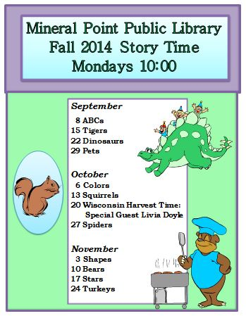 Fall 2014 Story Time